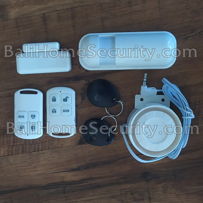 Jual Paket ALarm security wireless di Bali